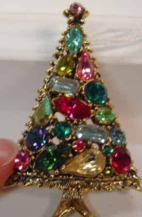 Signed Vintage Christmas Jewelry Past And Present Jewelry