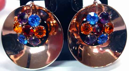 e38a44bf9 Description: Coro Sterling Craft Set of Matched Fur Clips - Vermeil, almost  rose gold plated pair of matching retro clips, these are as close to museum  ...